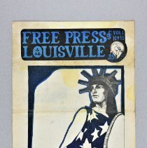 "Image of Newspaper - Newspaper, ""Free Press of Louisville"" vol. 1 no. 11"