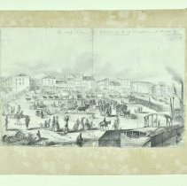 Image of Drawing - The Wharf in Louisville
