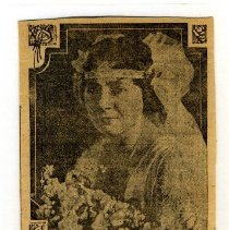 Image of Newspaper - Newspaper clippings, MacPherson-Tafel wedding (4)