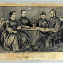 Image of Print - The Lincoln Family