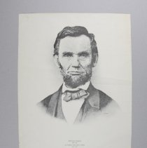 Image of Print - Abraham Lincoln