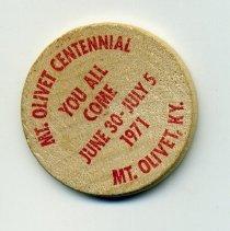 Image of centennial token