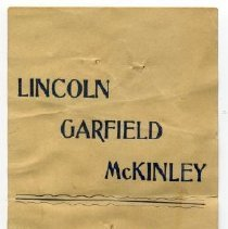 Image of Bookmark - Paper ribbon, Philadelphia Young Men's Republican Club