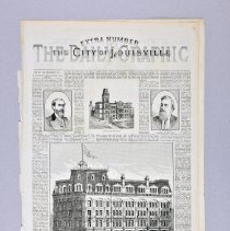 "Image of Magazine - Special issue of the Daily Graphic, ""The City of Louisville"""