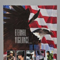 """Image of Poster - Poster, """"Armed Forces Day, 1991"""""""