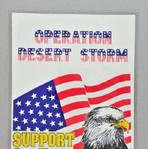 "Image of Poster - Poster,  ""Operation Desert Storm  Support our Troops"""