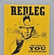 "Image of Poster - Poster,  ""Redleg"", KyANG Recruiting poster for 2/138th F. A."