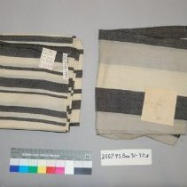 Image of Both of these textiles are grouped as 2007.45.494.