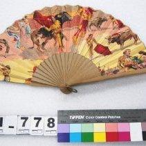 Image of Fan, Brisé - Folding fan