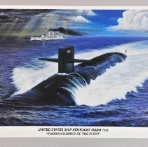 "Image of Print - United States Ship Kentucky (SSBN 737) / ""Thoroughbred of the Fleet"""