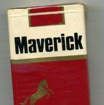 """Image of Cigarette - Package of  """"Maverick"""" filter tip cigarettes"""