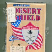 """Image of Card, Collecting - """"Operation Desert Shield"""""""