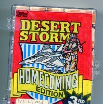 """Image of Card, Collecting - """"Desert Storm Homecoming Edition"""" 3rd Series"""
