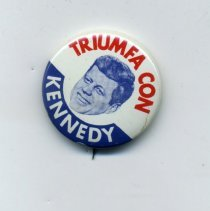 Image of Button, Political - Button, Kennedy