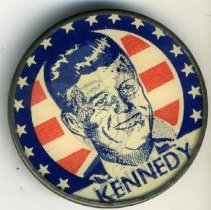 Image of Button, Political - Button, Kennedy-Johnson