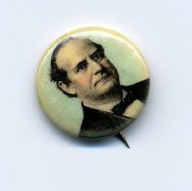 Image of Button, Political - Button, William Jennings Bryan