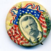Image of Button, Political - Button, Theodore Roosevelt