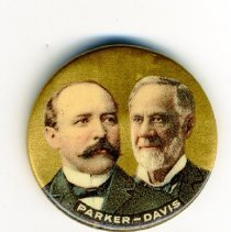 Image of Button, Political - Button, Alton Parker-Henry Davis