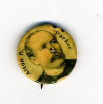 Image of Button, Political - Button, Alton Parker