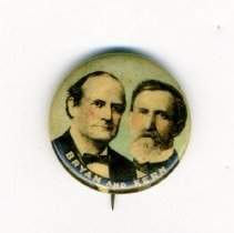Image of Button, Political - Button, Bryan-Kern