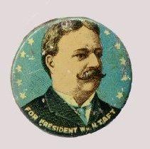 Image of Button, Political - Button, Wm. Howard Taft