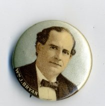 Image of Button, Political - Button, William Jenning Bryan