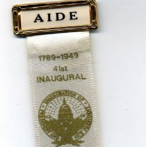 Image of Badge, Political