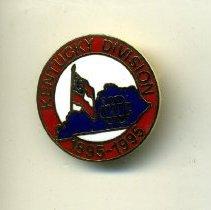 Image of Badge, Membership - 100th anniversary pin, UDC  Kentucky Division