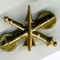 Image of Pin, Military