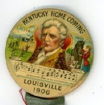 Image of Button, Promotional