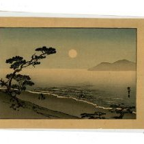 Image of Print - Gathering Water in Moonlight