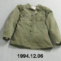Image of Shirt - Herringbone twill uniform shirt, US Army