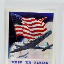 """Image of Poster - """"Keep 'Em Flying"""""""