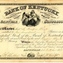 Image of Certificate, Stock