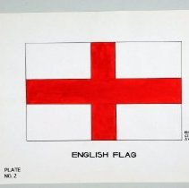 Image of Print - English Flag