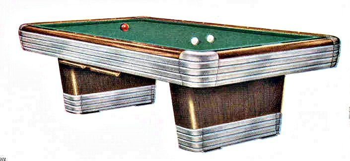 Table - Brunswick centennial pool table