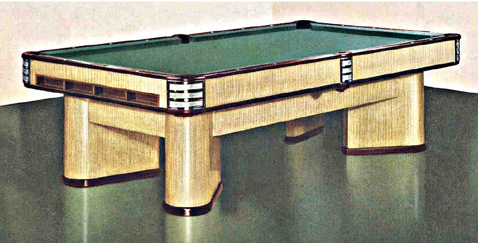 Table - Brunswick commander pool table