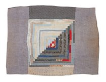 Image of QUILT - Unknown Log Cabin Quilt