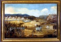 Image of Painting - The Battle of Pea Ridge (or Elkhorn Tavern)