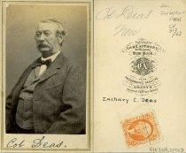 Image of Carte-de-Visite - Zachariah Cantey Deas