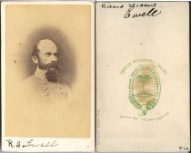 Image of Carte-de-Visite - Richard Stoddert Ewell