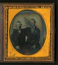 Image of Ambrotype - Edward H. Argyle and James Bates Carter