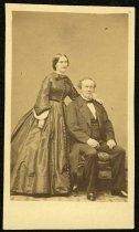 Image of Carte-de-Visite - Julia Ann Mitchell Coggill and Frederick William Coggill