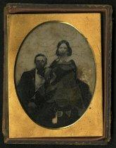 Image of Ambrotype - Unidentified Civilians