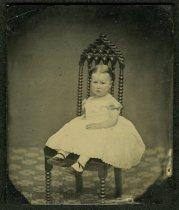 Image of Ambrotype - Unidentified Child  (Female)