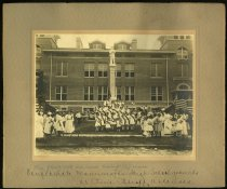 Image of Print, Photographic - Confederate Monument Unveiling, July 22, 1910, Pine Bluff, Arkansas