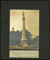 Image of Print, Photographic - Gen. Robert E. Lee Confederate Monument, Marianna, Arkansas