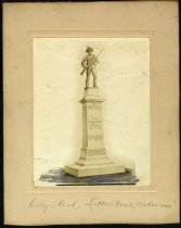 Image of Print, Photographic - Confederate Monument, 6th Arkansas Infantry, Co. A, Capital Guards, Little Rock, Arkansas