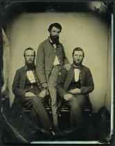 Image of Ambrotype - Theodore Brailsford, Richard C. Richardson, Jr., and Thomas H. Smith
