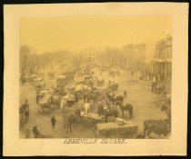 "Image of Print, Photographic - Abbeville Square, Abbeville, South Carolina (from ""People and Places of Abbeville, South Carolina"")"